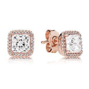 New Pandora Rose Timeless Elegance Earrings